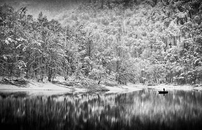 Frost Photograph - Remaining by Peter Svoboda, Mqep
