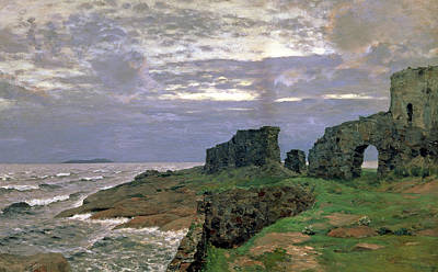 Remains Painting - Remains Of Bygone Days by Isaak Ilyich Levitan