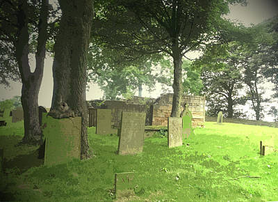 Old Churches Drawing - Remains Of Heath Old Church, This Is Actually The Only by Litz Collection