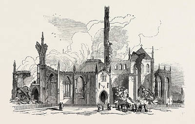 Remains Of St. Georges Church, Doncaster Art Print