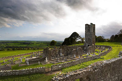 Remains Of The Church On St Patricks Print by Panoramic Images