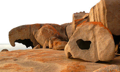 Remarkable Rocks Art Print by Evelyn Tambour