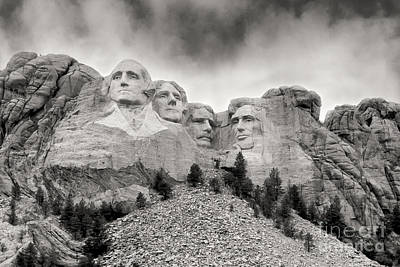 Remarkable Rushmore Art Print by Erika Weber