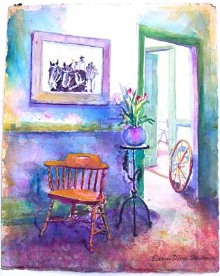 Remberence  Art Print by Eleanor  Dixon Stecker