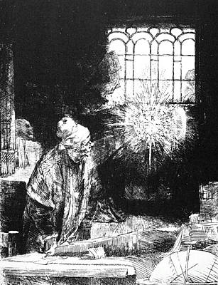 Photograph - Rembrandt: Faust, 1652 by Granger