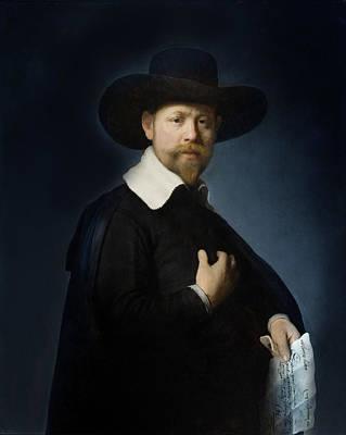 Photograph - Rembrandt Van Rijn by Carlos Diaz