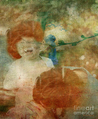 Art Print featuring the digital art Rembrant's Daughters by Chris Armytage