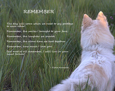 Remember Art Print