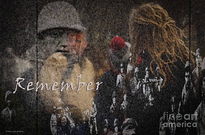 Photograph - Remember by MaryJane Armstrong