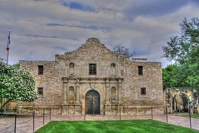 Remember The Alamo Art Print by Barry Jones