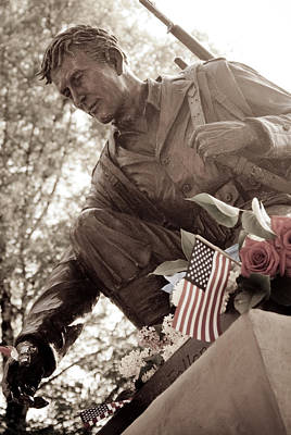 Art Print featuring the photograph Remember The Fallen by Chris McKenna