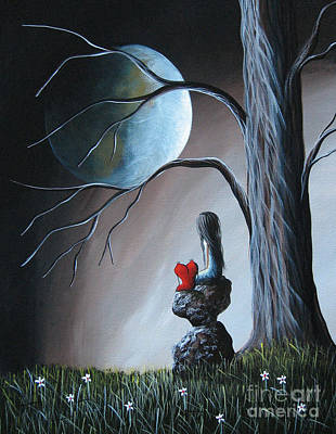 Teen Licensing Painting - Surreal Art By Shawna Erback by Shawna Erback