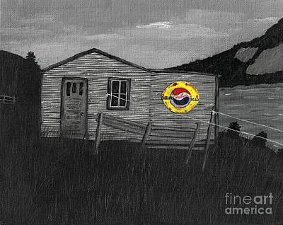 Remember When Old Pepsi Sign 2 Art Print by Barbara Griffin