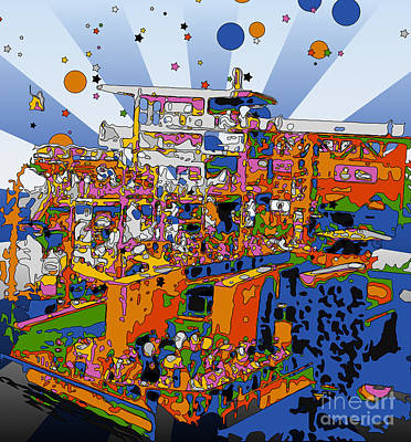 Peter Max Photograph - Remember When by Terry Weaver