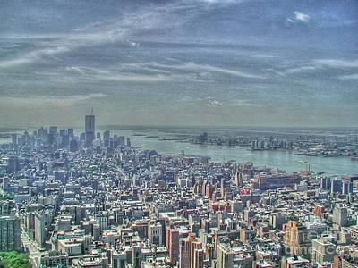 New York Remembering 9/11 Art Print