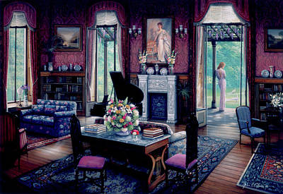 Painting - Remembering Evening by John P. O'brien