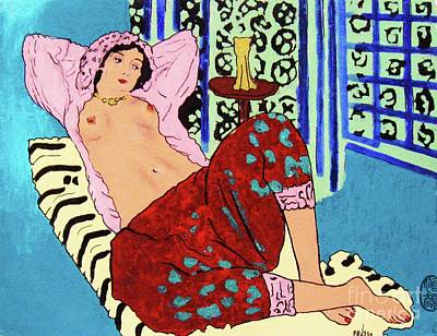 Painting - Remembering Matisse by Roberto Prusso