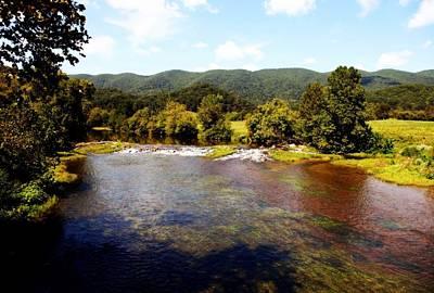 Virginia River Photograph - Remembering Mendota by Karen Wiles