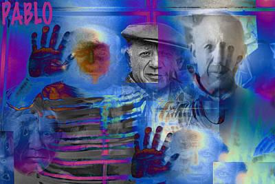 Remembering Pablo Print by Jimi Bush