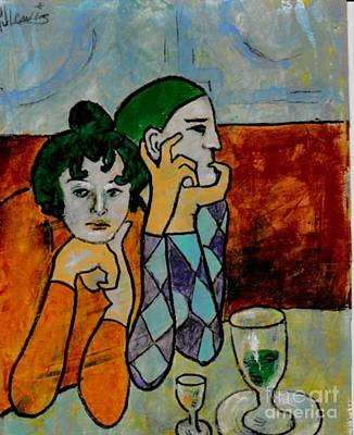 Remembering Picasso Art Print by P J Lewis