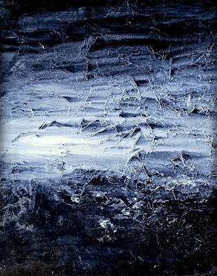 Abstractabstract Painting - Frozen by Holly Anderson