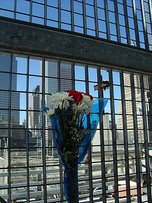 Photograph - Remembrance At Ground Zero by John Schneider