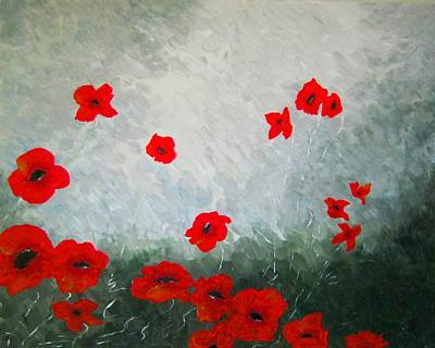 Abstract Shapes Janice Austin - Remembrance by Jean Tatton Jones