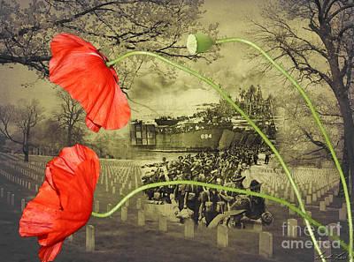 Remember Digital Art - Remembrance by Linda Lees