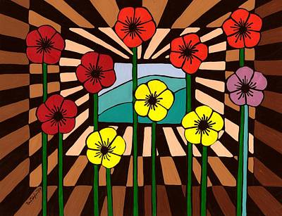 Painting - Remembrance Poppy by Barbara St Jean