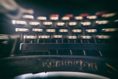 Typewriter Keys Photograph - Remington Keys by Georgia Fowler