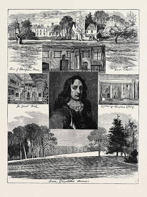Archives Drawing - Reminiscences Of John Hampden by English School