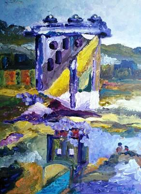 Painting - Reminiscent Of A Splendor Era by Ray Khalife