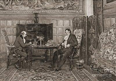 Reminiscing 1893 Art Print