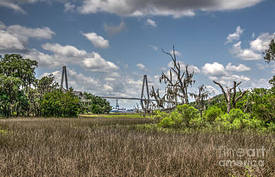 Photograph - Remleys Point Bridge View by Dale Powell