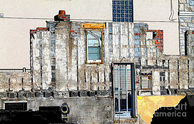 Photograph - Remnants Of An Old House In A New Neighbourhood by Nina Silver