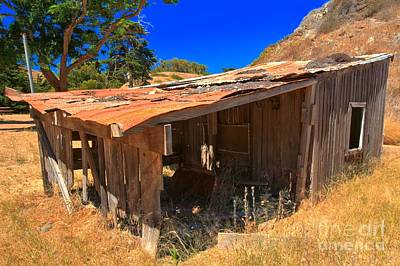 Photograph - Remnants Of Scorpion Ranch by Adam Jewell
