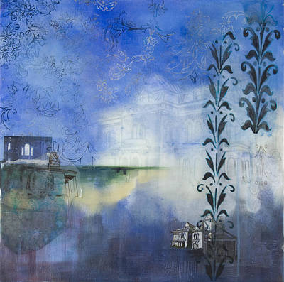 Remnants Of The Vanished Art Print by Stacey Sherman