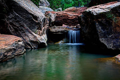 Water Fall Photograph - Remote Falls by Chad Dutson