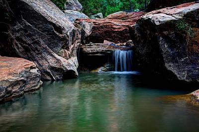 Subway Photograph - Remote Falls by Chad Dutson