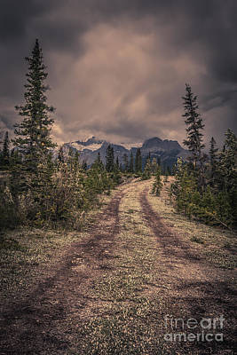 Photograph - Remote Mountain Road by Edward Fielding