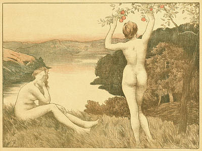 René Menard French, 1862 - 1930. Automne Art Print