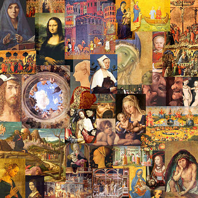 Timelines Mixed Media - Renaissance 14th To 17th Century  by Anders Hingel