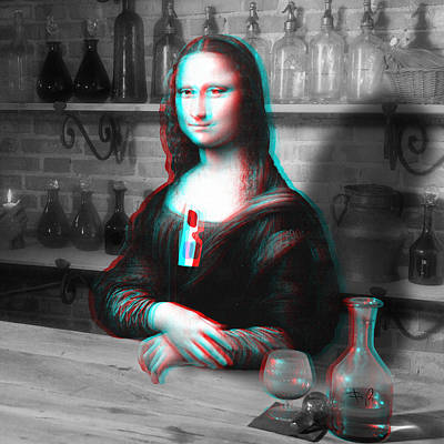 Drunk Digital Art - Renaissance's Altered States by Filippo B