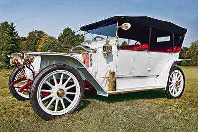Classic Photograph - Renault 1913 by Marcia Colelli