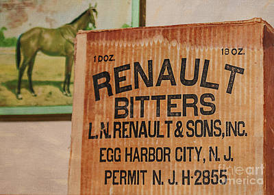 Renault Bitters Art Print