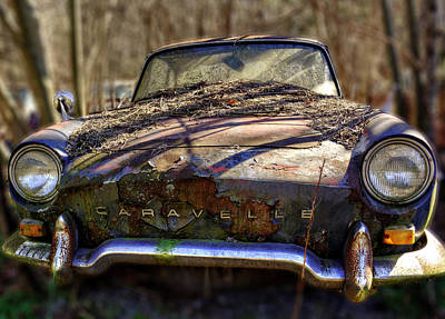 Photograph - Renault Caravelle by Greg Mimbs