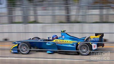 Photograph - Renault Race Team Eprix II by Rene Triay Photography