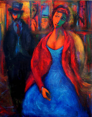 Painting - Rendezvous by Marina R Burch