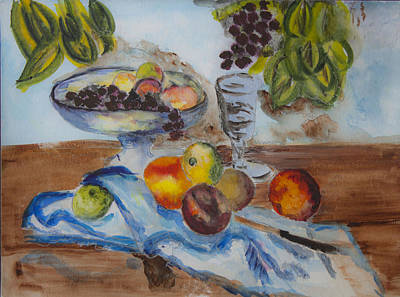 Rendition Still Life With Compotier Original