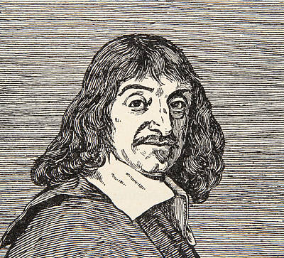 Print Drawing - Rene Descartes by French School
